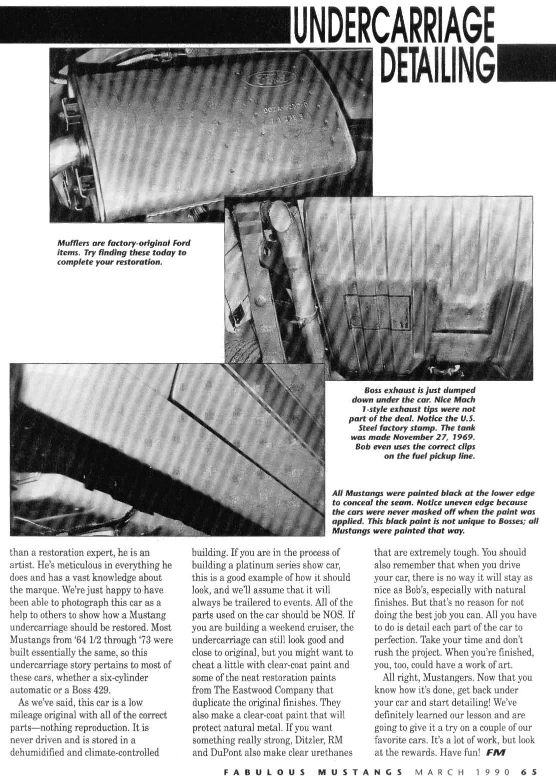 Boss 302 Stuff 1970 Ford Mustang Vacuum Diagram Diagrams